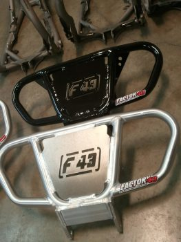 Honda Trx250r Front Bumper With F43 Plate Insert